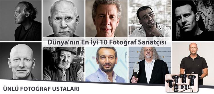 Dünyanın En İyi 10 Fotoğraf Sanatçısı