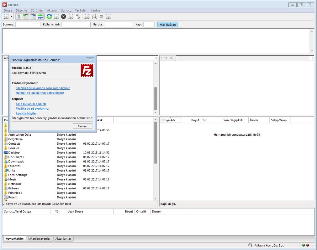FileZilla 3.46.0 Final | Katılımsız
