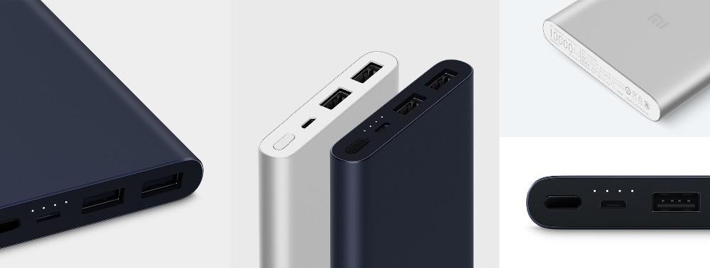 Xiaomi 10000 Mah Powerbank Silver