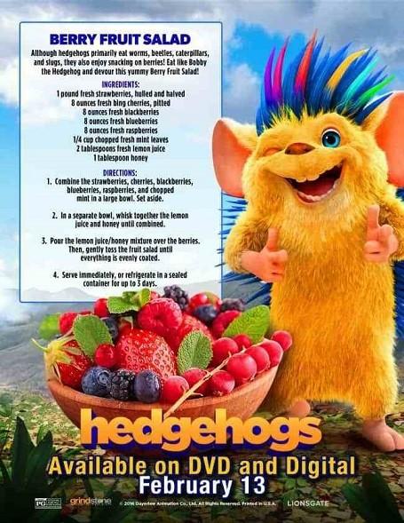 Bobi: Dikenlerin Gücü Adına! - Hedgehogs - 2017 - 1080p DUAL