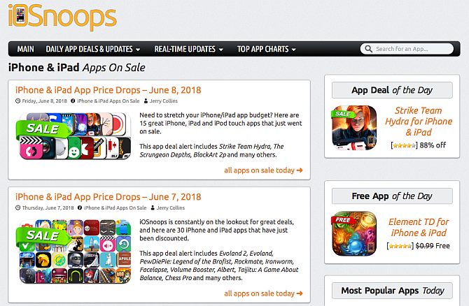 iOSnoops