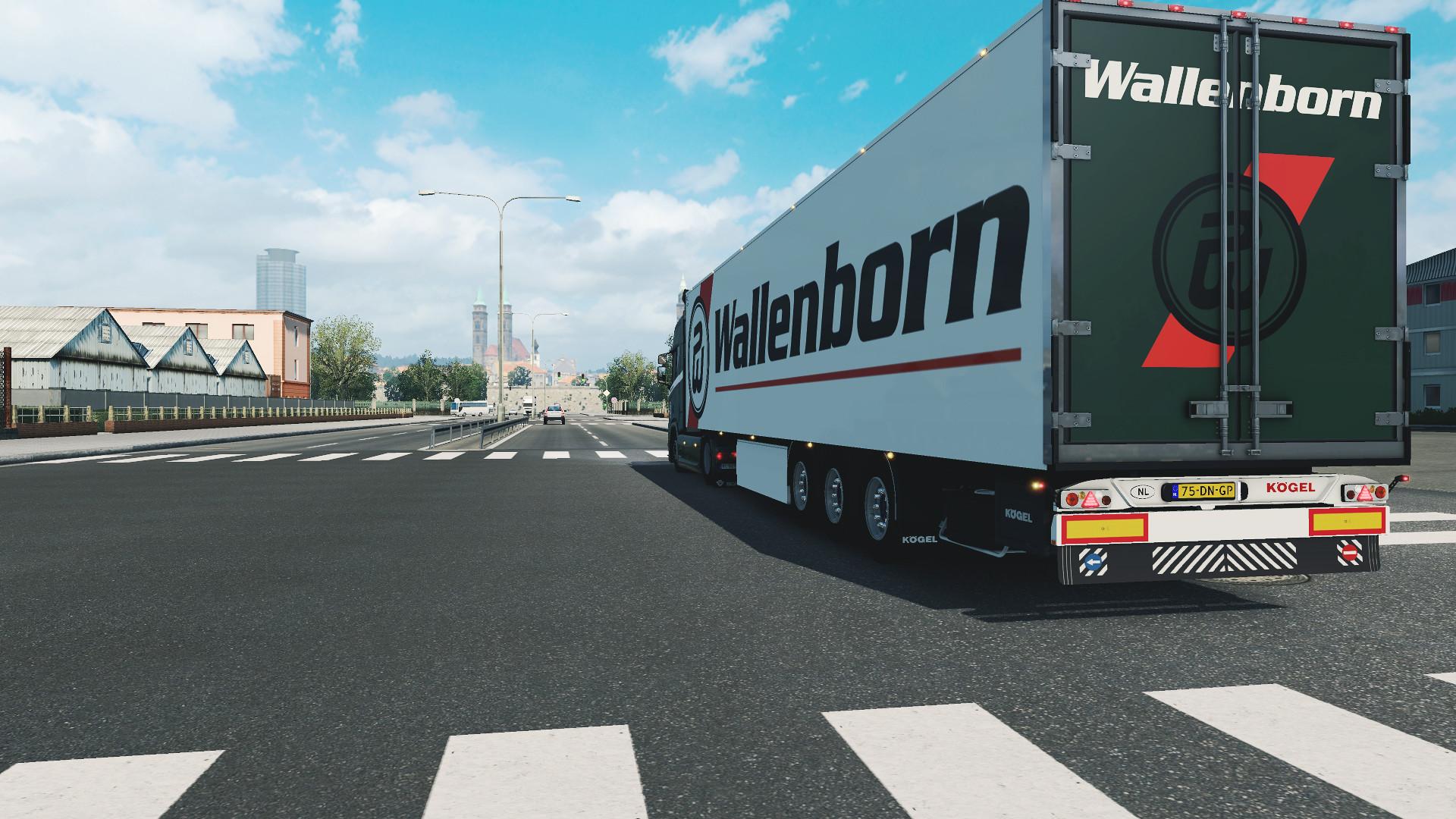 Scania R + Kogel - Wallenborn