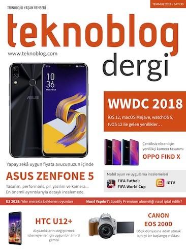 Teknoblog Temmuz 2018