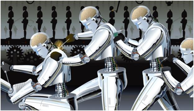 robot halayı