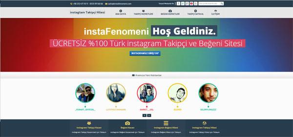 instagram beğeni sitesi