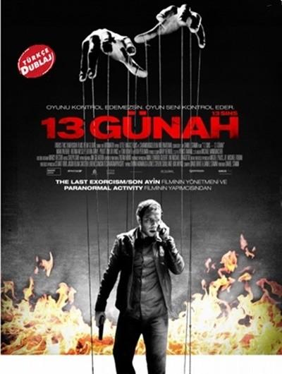 13 Günah – 13 Sins 2014 BRRip XviD Türkçe Dublaj – Tek Link