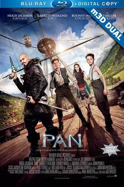 Pan | 2015 | m3D Half-SBS Mkv | DuaL TR-EN - Tek Link