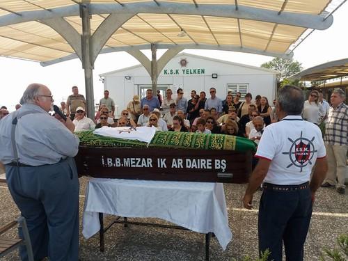 Karşıyaka eski Divan Kurulu ve Yönetim Kurulu üyelerinden Şekip İriboz bugün son yolculuğuna uğurlandı.
