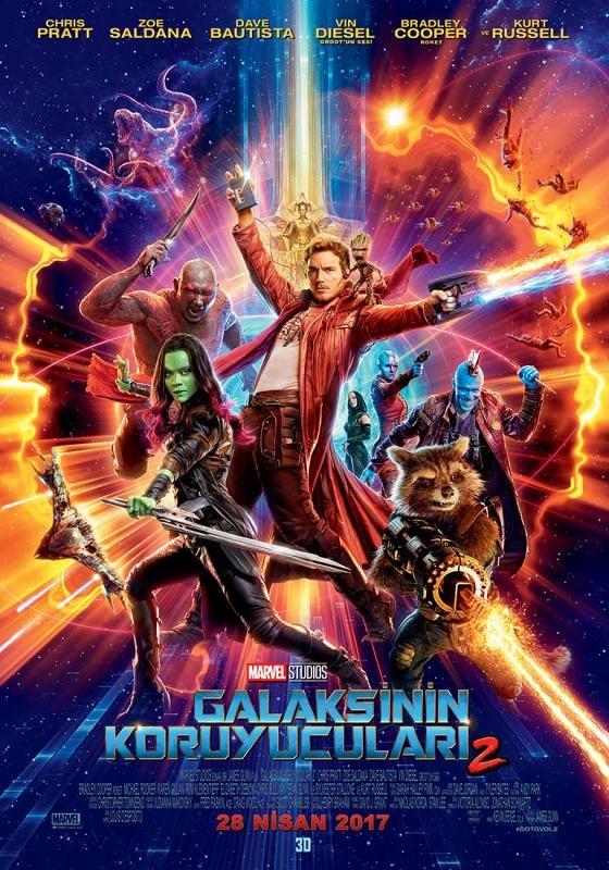 Galaksinin Koruyucuları 2 (2017) BLURAY Türkçe Dublaj Seçenekli Film indir