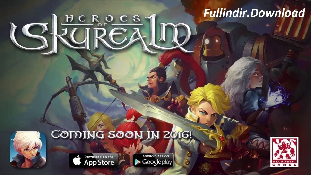 Heroes of Skyrealm Efun v1.3.1 Apk Mod (Hileli) Full indir
