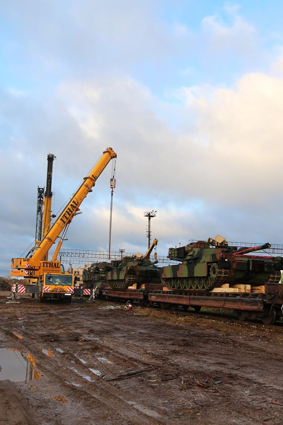 American Tanks In Estonia 6