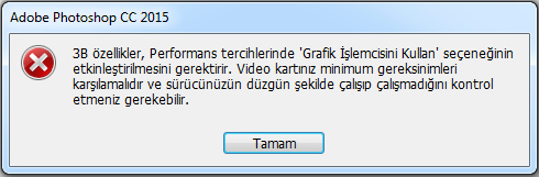 Photoshop 3B Problemi