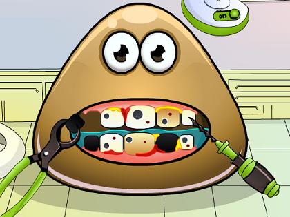 Pou Diş Ameliyatı Oyunu