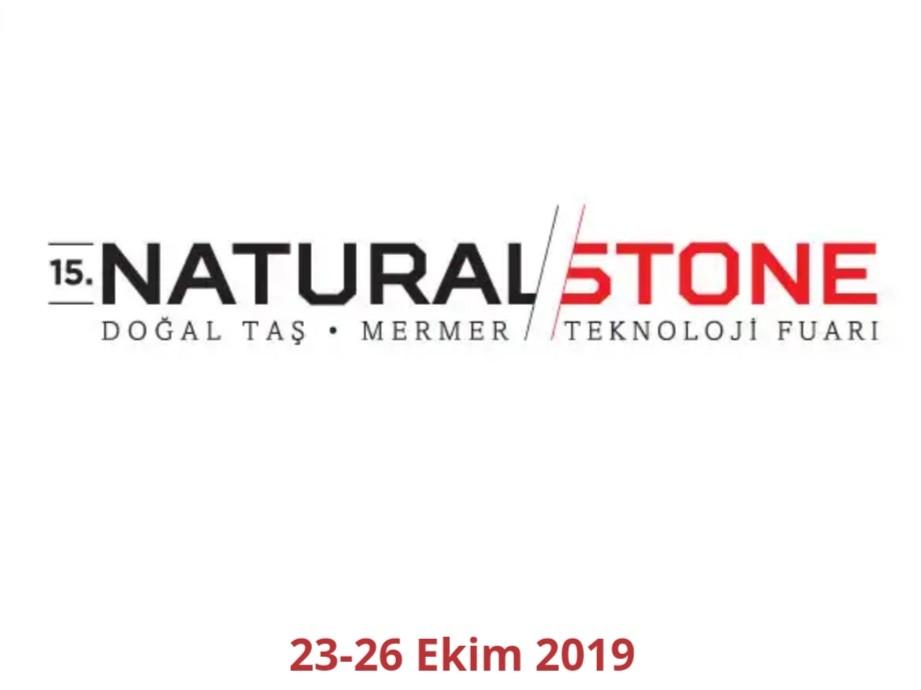Natural Stone İstanbul Uluslararası Mermer Fuarı 2019