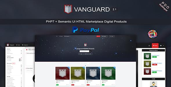 Vanguard v2.1- Dijital Ürün Satış Scripti