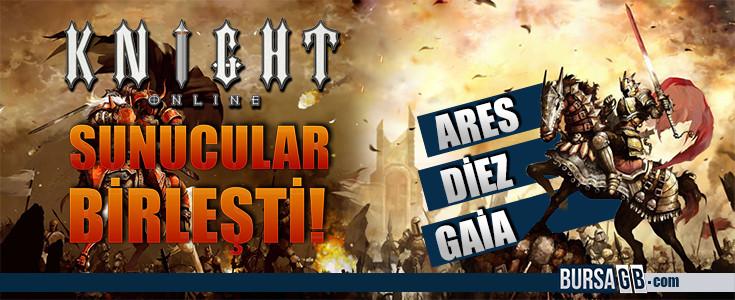 Knight Online'da Sunucular Birlesti!