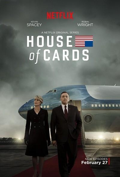 House of Cards 3.Sezon Tüm Bölümler ( BRRip XviD ) Türkçe Dublaj Tek Link İndir