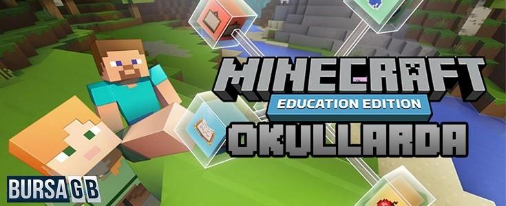 Minecraft Okullara Giriyor