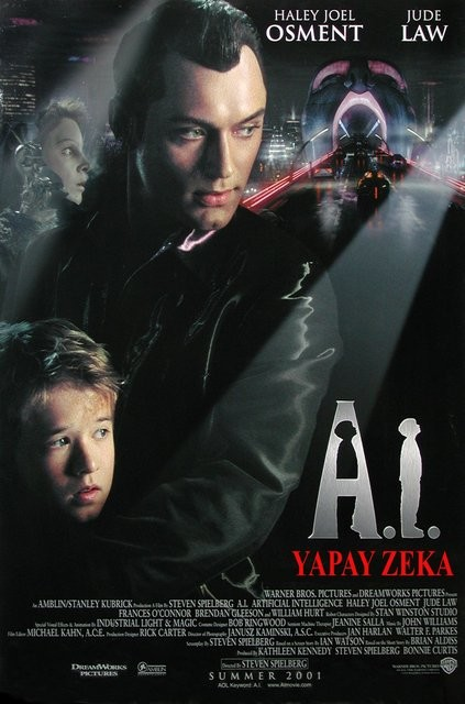 Yapay Zeka - Artificial Intelligence: AI (2001) - türkçe dublaj film indir
