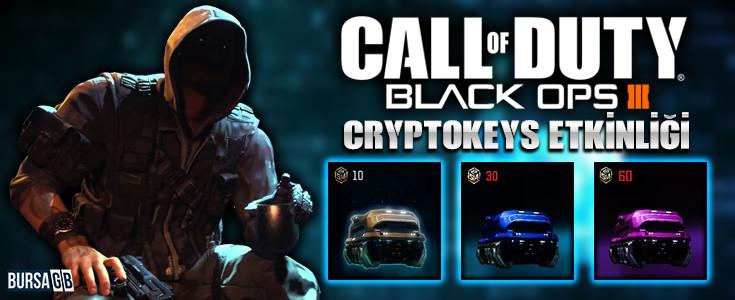 Hafta sonuna özel Call of Duty: Black Ops III Cryptokeys Etkinligi