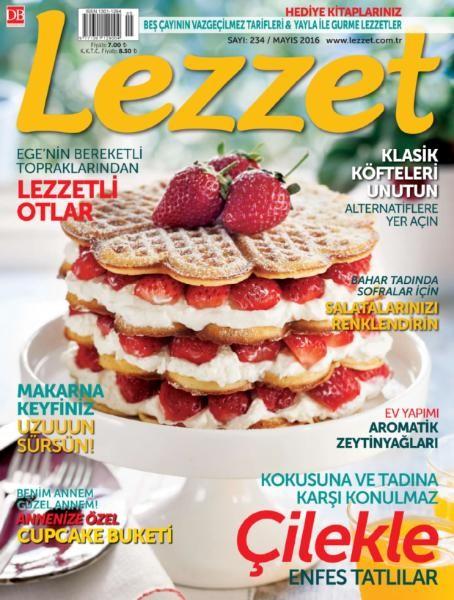Lezzet Mayıs E-dergi indir Sandalca.com