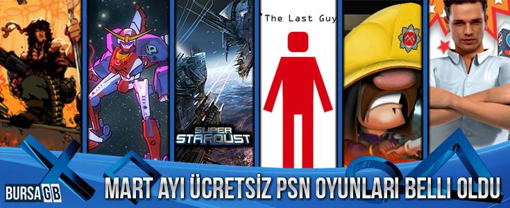 PS Plus Mart 2016 Ücretsiz Oyunları