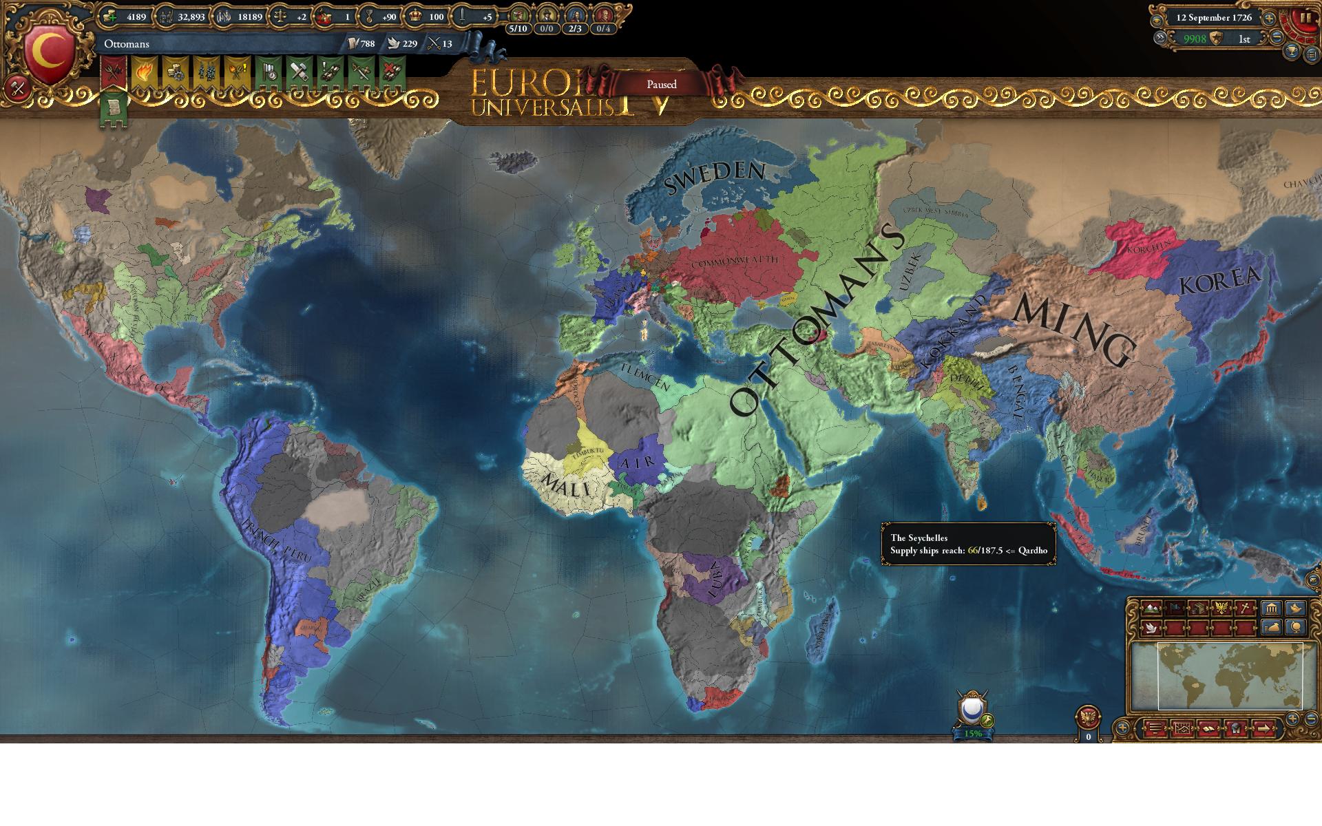 World Conquest Achievement | Paradox Interactive Forums
