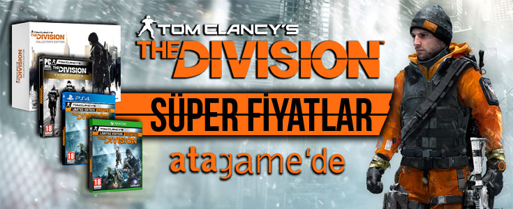 Tom Clancy's The Division Süper Fiyatlarla Atagame 'de