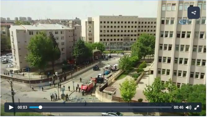 Gaziantep'te terör saldırısı: 2 şehit, 23 yaralı
