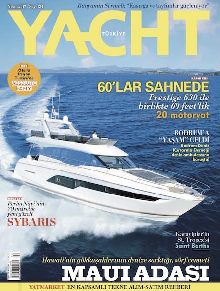 Yacht Nisan 2017
