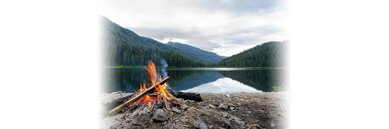 gerçek kampçı her yerde ateş yakmaz