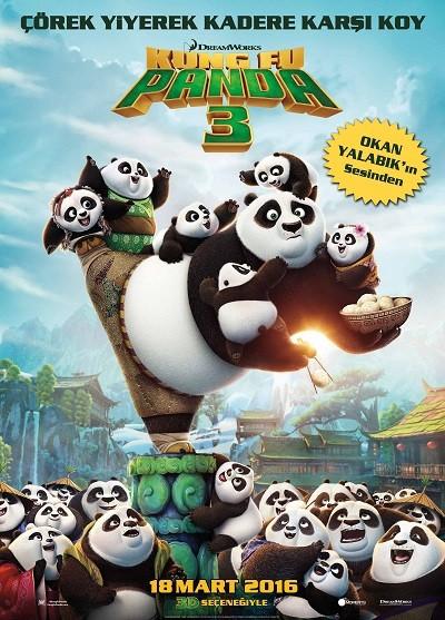 Kung Fu Panda 3 2016 ( BluRay m1080p ) Türkçe Dublaj - Tek Link
