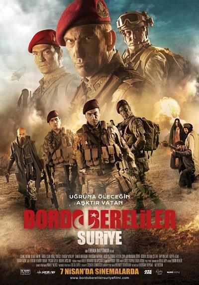 Bordo Bereliler Suriye 2017 (HDTV XviD-720p-1080p) Yerli Film indir