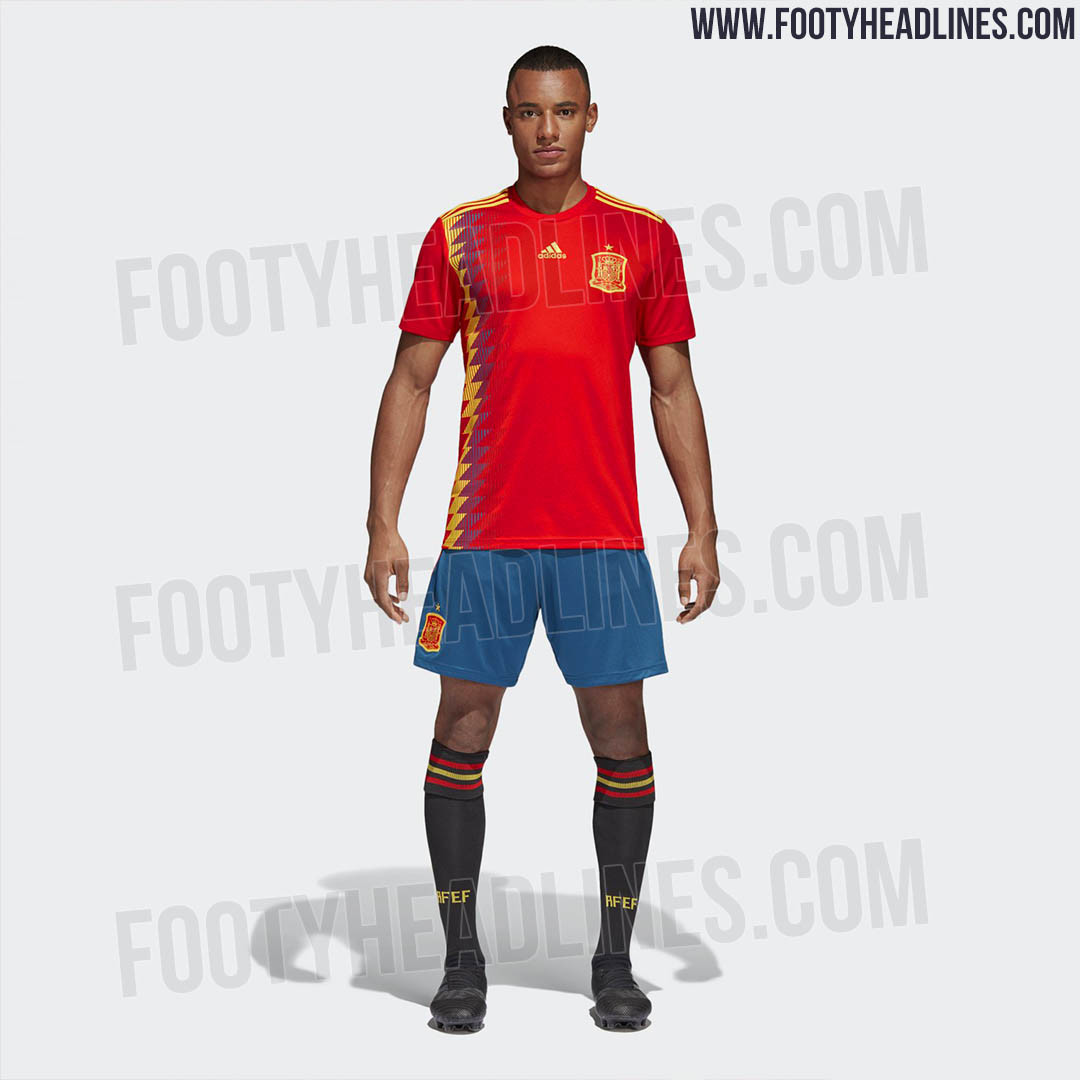 Spain 2018 World Cup Kit (13 1)