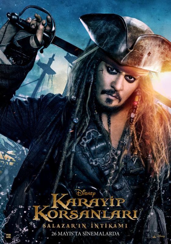 Karayip Korsanları: Salazar'ın İntikamı (2017) BLURAY Türkçe Dublaj Seçenekli Film indir
