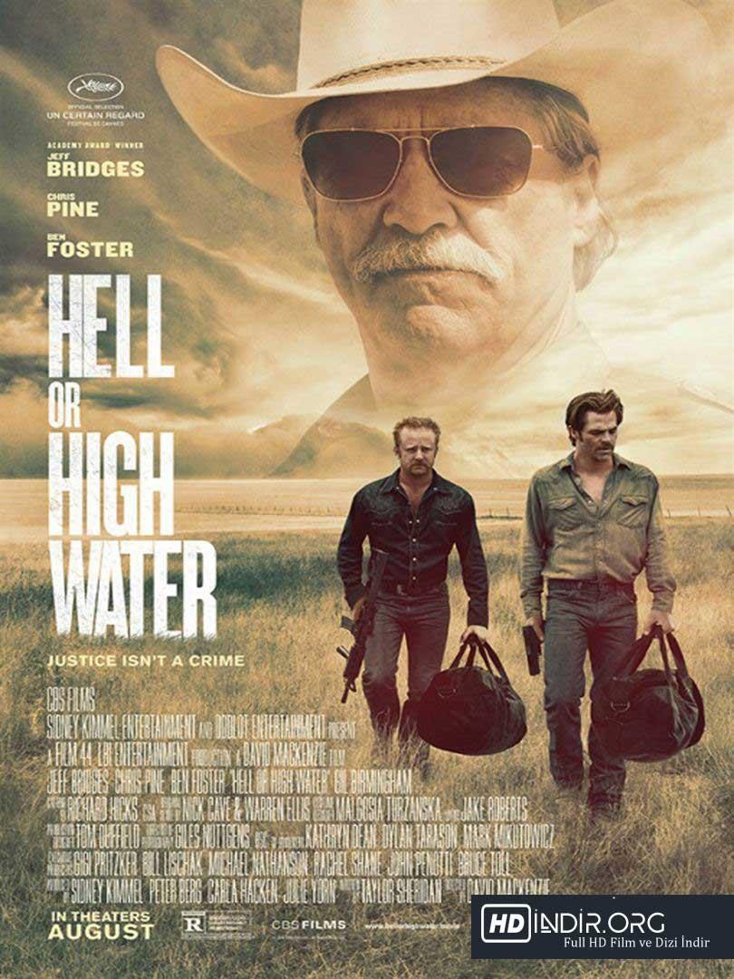 İki Eli Kanda - Hell or High Water  (2016) Türkçe Dublaj HD Film İndir