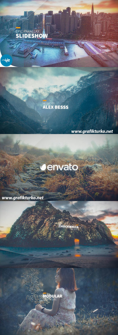 Epic Parallax Slideshow 17172715 – After Effects Projects