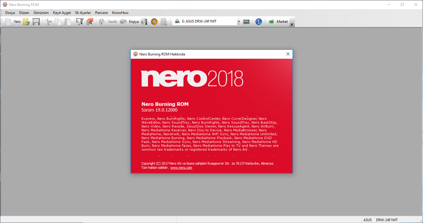 Nero 2018 Micro Lite 19.0.12000   Katılımsız