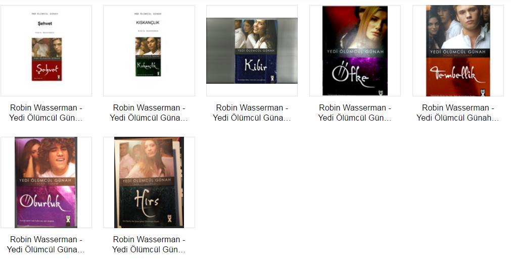 Robin Wasserman - Yedi Ölümcül Günah Serisi PDF indir Sandalca.com