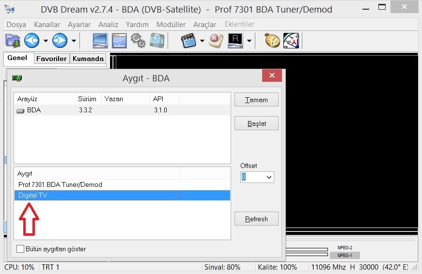 GENIATECH MyGica USB stick DVB-T2 device ( T230 driver