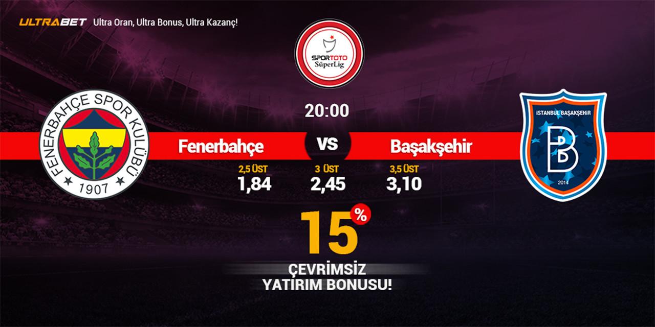 Fenerbahçe - Başakşehir Canlı Maç İzle