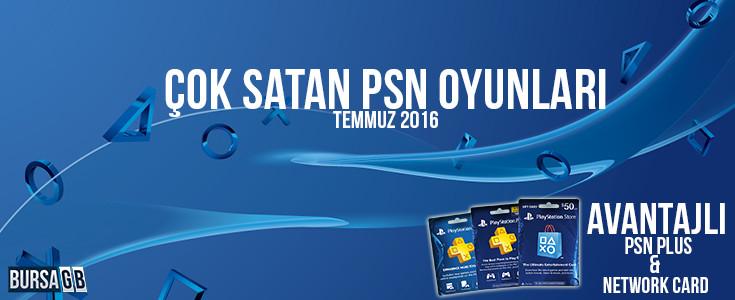 Çok Satan PSN Oyunları - İndirimli Psn Plus Card Satın al