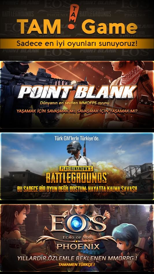Point Blank Tam Game
