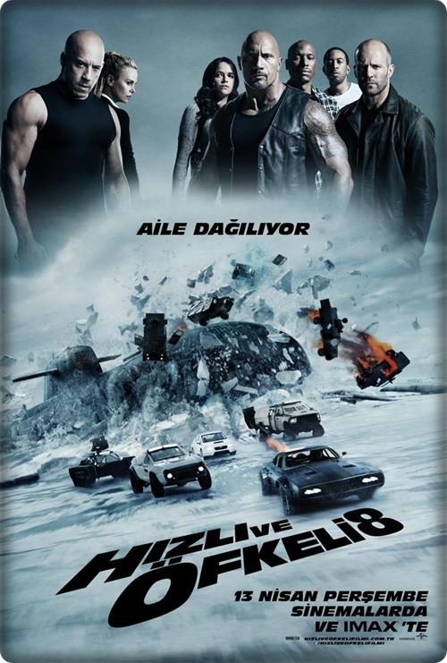Hızlı ve Öfkeli 8 - The Fate of the Furious 2017 HDRip XviD
