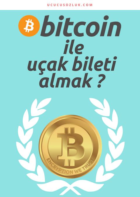 bitcoin ile uçak bileti almak
