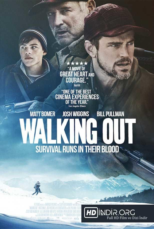 Tehdit Altında - Walking Out (2017) Türkçe Dublaj HD - Film indir