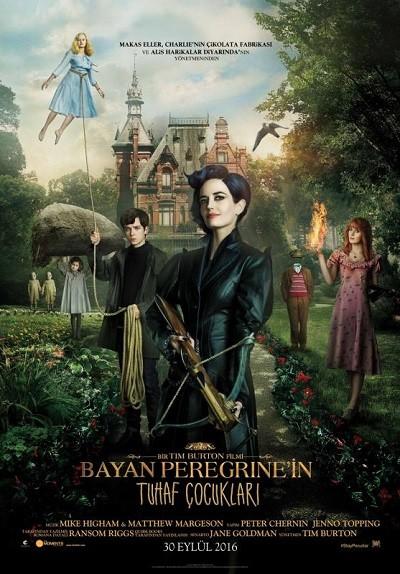 Bayan Peregrine'in Tuhaf Çocukları - Miss Peregrine's Home for Peculiar Children 2016 BRRip XViD Türkçe Dublaj - Tek Link Film indir