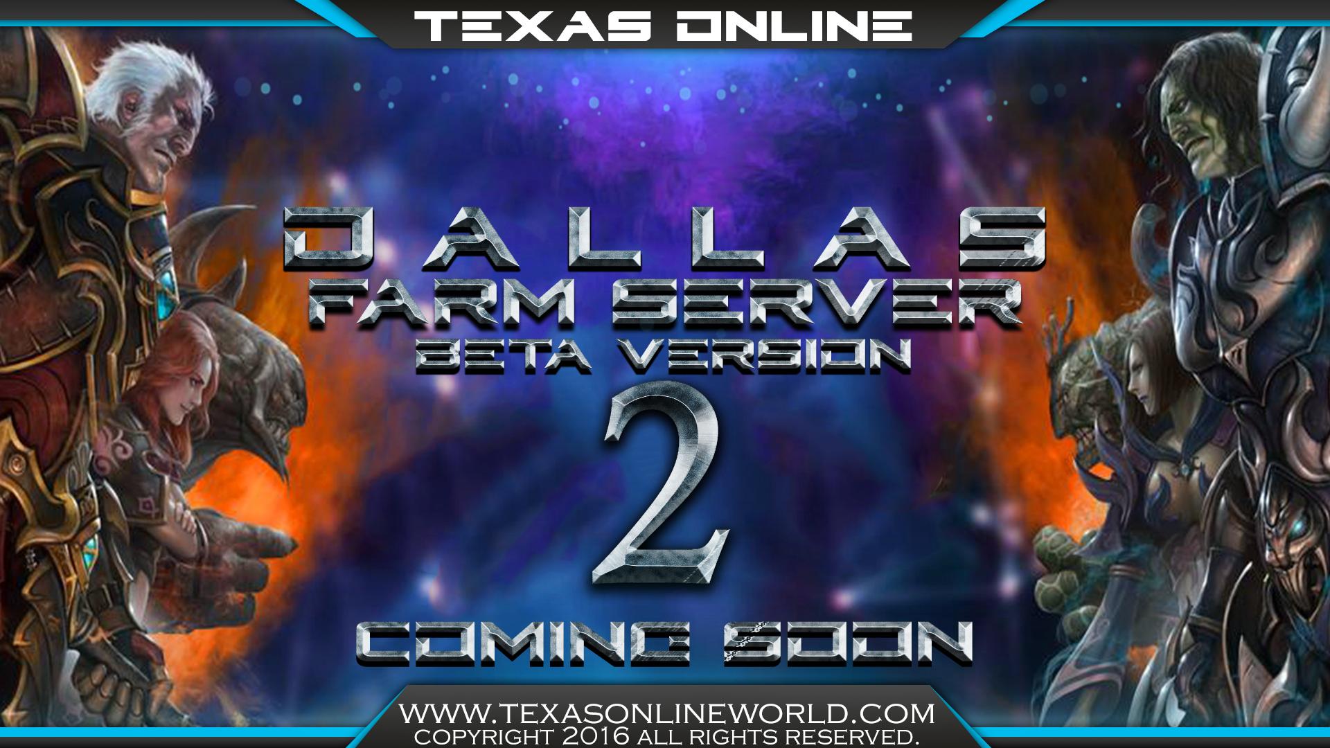 Texas Online World - Dallas Sunucu Acılıyor