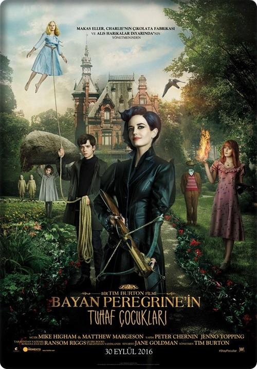 Bayan Peregrine'in Tuhaf Çocukları 2016 (Türkçe Dublaj) BRRip XviD