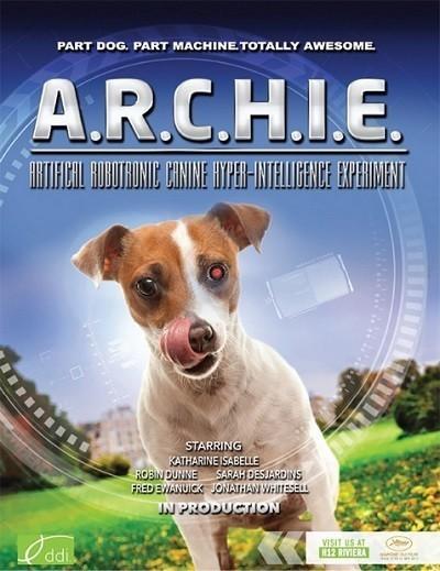 Archie: Robodog - Robot Köpek Archie 2016 türkçe dublaj film indir